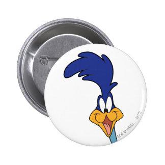 ROAD RUNNER™ Face Pinback Button