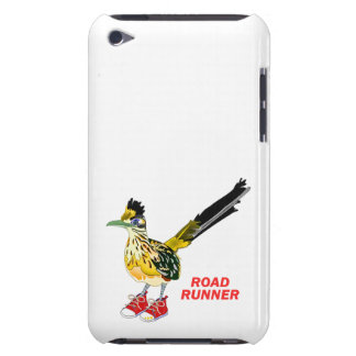 Road Runner in Red Sneakers iPod Touch Case