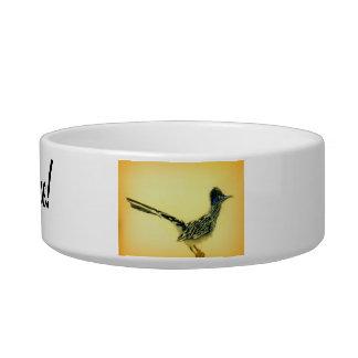 Road Runner pet bowl. Pet Water Bowls