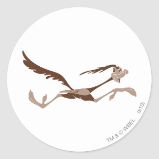 ROAD RUNNER™ running Classic Round Sticker