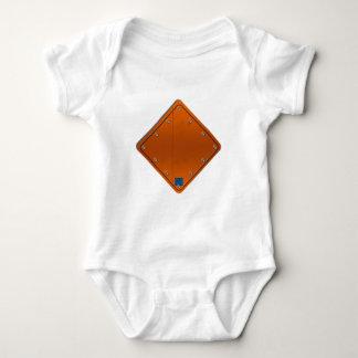 Road Sign Baby Bodysuit
