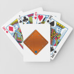 Road Sign Bicycle Playing Cards