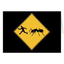 Road Sign- Giant Ant Card