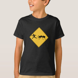 Road Sign- Giant Ant T-Shirt