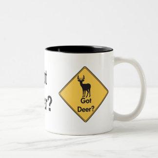 Road Sign- Got Deer? Mug