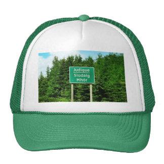 Road Sign, Judique, Cape Breton Hats