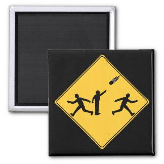 Road Sign- Meteor Magnet