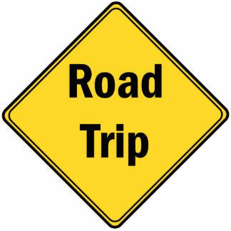 Road Sign- Road Trip Statuette