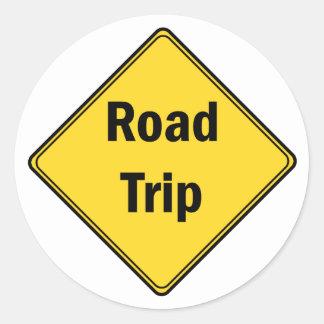 Road Sign- Road Trip Sticker