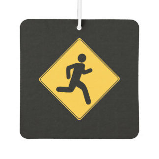Road Sign - Runner Car Air Freshener