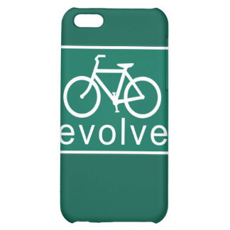 Road Sign Style EVOLVE Bicycle Art iPhone 5C Case