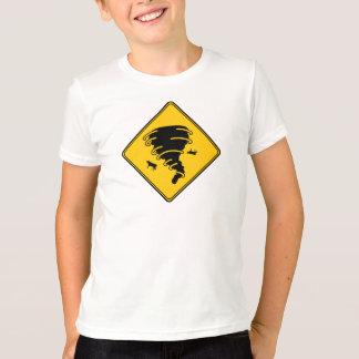 Road Sign- Tornado T-Shirt