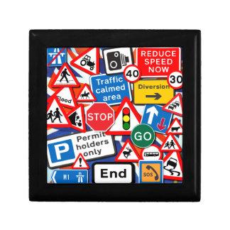 Road Signs Keepsake Box