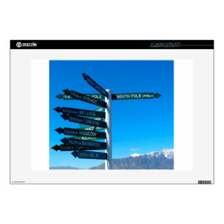 "Road signs skins for 15"" laptops"