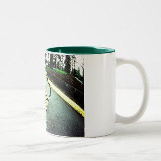 Road Signs Two-Tone Coffee Mug