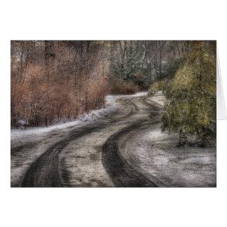 Road - The hidden road Card