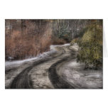 Road - The hidden road Greeting Cards