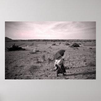 Road to Axum - Ethiopia Print