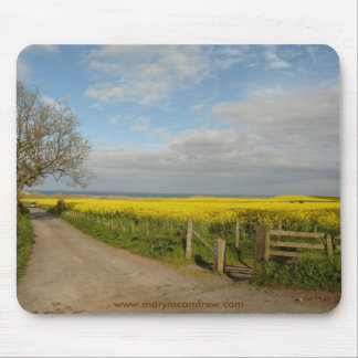 """Road to Beach at Alnmouth"" Mousepads"