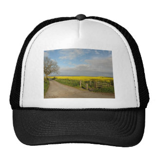 """Road to Beach at Alnmouth"" Trucker Hat"