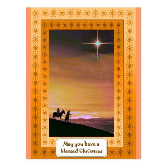 Road to Bethlehem Postcard