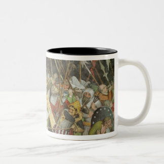 Road to Calvary Two-Tone Coffee Mug