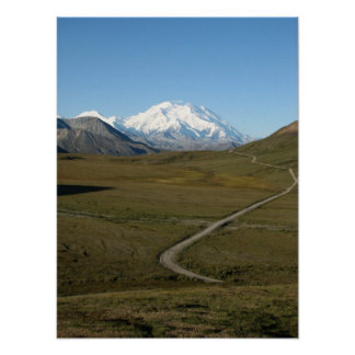 Road to Denali Framable Print