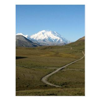 Road to Denali Postcard