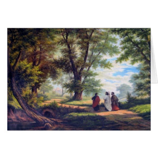 ROAD TO EMMAUS CARD