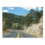 Road to Estes Park, CO Postcards