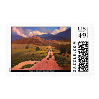Road to Eternity by Alan Heuer Postage Stamp