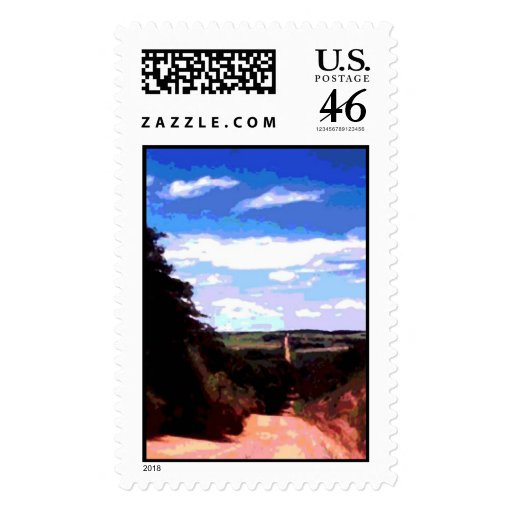 Road to Grandmother's House Postage Stamps