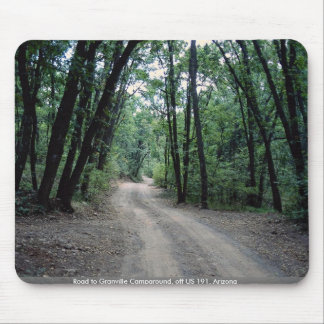 Road to Granville Campground off US 191 Arizona Mouse Pad