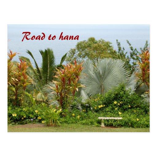 Road to hana post cards