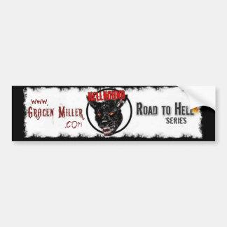 Road to Hell Bumper Sticker Car Bumper Sticker