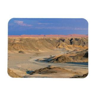Road To Homeb Through Desert, Namib-Naukluft Rectangular Magnet