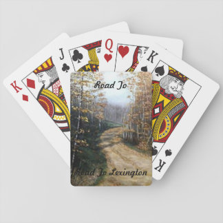 """""""ROAD TO LEXINGTON PLAYING CARDS"""" POKER CARDS"""