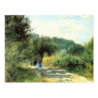 Road to Louveciennes by Pierre Renoir Postcard