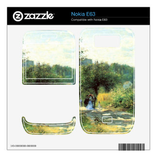 Road to Louveciennes by Pierre Renoir Skin For Nokia E63