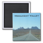 Road to Monument Valley 2 Inch Square Magnet