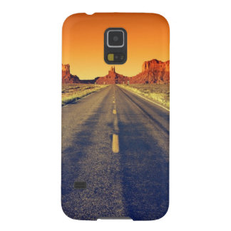 Road To Monument Valley At Sunset Case For Galaxy S5