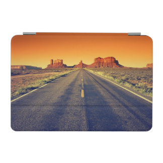 Road To Monument Valley At Sunset iPad Mini Cover