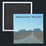"""Road to Monument Valley Magnet<br><div class=""""desc"""">Road to Monument Valley,  UT-AZ</div>"""