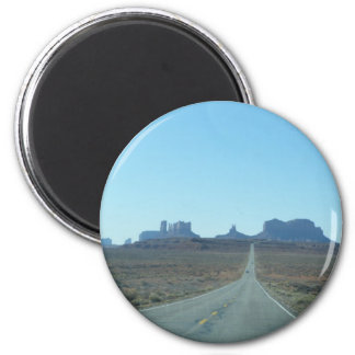 Road to Monument Valley Fridge Magnet