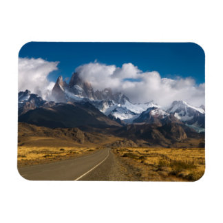 Road To Mount Fitzroy, Patagonia Magnet