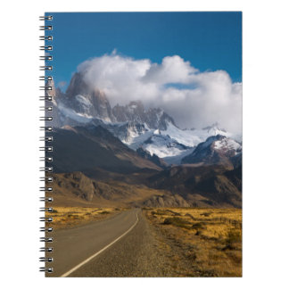 Road To Mount Fitzroy, Patagonia Notebook