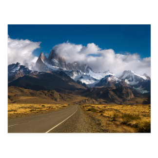 Road To Mount Fitzroy, Patagonia Postcard