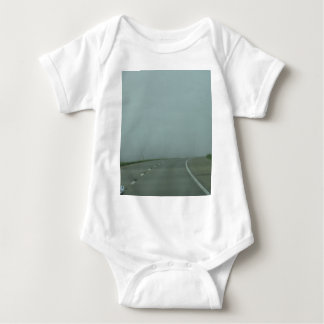 Road to no where baby bodysuit