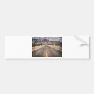 Road to nowhere bumper sticker