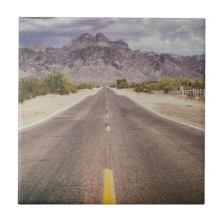 Road to nowhere ceramic tile